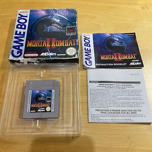 Nintendo Gameboy Boxed - Mortal Kombat II