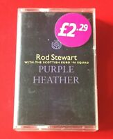 ROD STEWART PURPLE HEATHER (1996) Cassette Tape Single