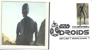 First Day Cover SC#5575 Star Wars Droids K2-SO May 4 2021