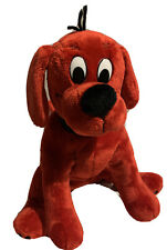 "Douglas Scholastic Red Clifford 11"" Plush Small Sitting Dog #7511 Stuffed Animal"