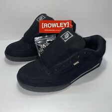 RARE!!! NOS Vintage 2004 VANS Geoff Rowley XL3 XL III Men's Size 9.5 (Black) New