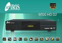 RECEPTOR SATELITE / DECODIFICADOR IRIS 9700 HD 02. 2 AÑOS DE GARANTIA . 24/48 H.