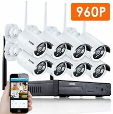 WIRELESS NVR HD Wireless Security IP Camera System Router 8 Channel night video