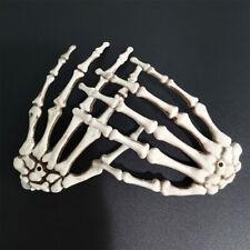 Halloween Karneval Party Tricky Requisiten 1 Paar Plastik Skelett Hände Dekor DE