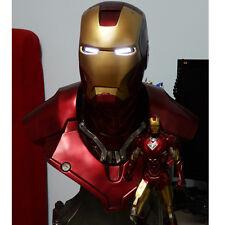 1/1 Iron Man Lifte Size Mk3 Mark3  Bust Statue Scale Tony Strak Avengers Recast