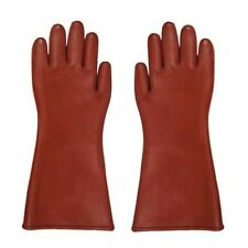 Insulated 12kv High Voltage Electrical Insulating Gloves For Electricians FE