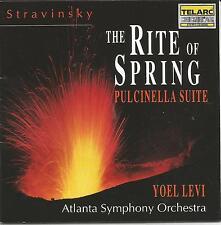 Stravinsky ~ Le parue TU printemps/Pulcinella suite ~ Levi