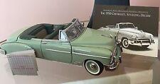 Franklin Mint 1:24 1950 Chevrolet DeLuxe Styleline Convertible