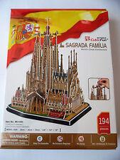 3D Puzzle Sagrada Familia Cubic Fun Barcelona Spanien Kirche Kathedrale