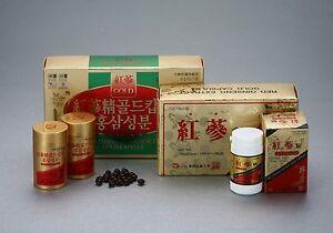 ROTER GINSENG Extrakt Gold 320mg Kapseln - Qualität aus Korea