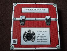 Ministry Of Sound Live & Remastered 20th Anniversary 5 CD Box Set.Iconic DJ Sets