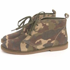 Damenstiefel & -Stiefeletten mit Camouflage für Kleiner Absatz (Kleiner als 3 cm)
