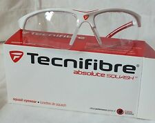 New Tecnifibre absolute eyewear (red/white)