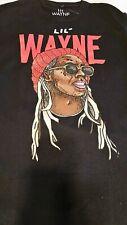lil Wayne Painting Photo Mens MEDIUM  T-Shirt BLACK NEW