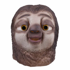 Zootopia Flash Sloth Cosplay Mask Fancy Dress Party Halloween Costume Xmas Gifts