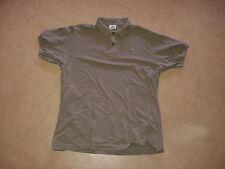 57932420b0ba Chemise LACOSTE men s polo shirt 6 L brown vintage