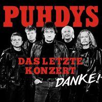 PUHDYS - DAS LETZTE KONZERT 2 CD NEU