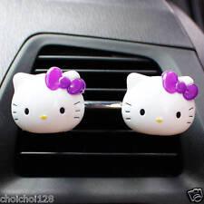 Hello Kitty Mini Air Freshener for Car 2 Pcs Perfume Diffuser Purple KK161
