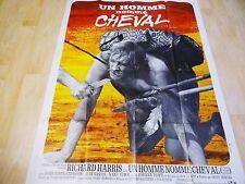 UN HOMME NOMME CHEVAL  !  richard harris affiche cinema  western 1969