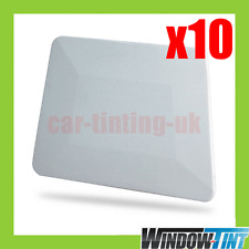 "10x 4 ""de teflón Borde Escurridor Blanco ventana de entintado herramienta Signo De Vinilo"