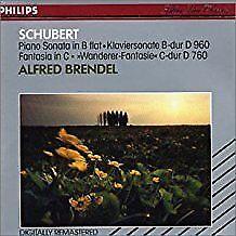 Schubert Franz - Piano Sonata D.960, Wanderer Fantasie D.760 - CD Album