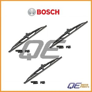 Set of 3 Rear Micro Edge Windshield Wiper Blade Bosch 40713 For: Ford Explorer
