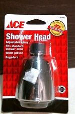 """Ace 45445 Shower Head 2.5 GPM 2"""" Face Fits Standard 1/2"""" Arms Chrome FREE SHIP"""