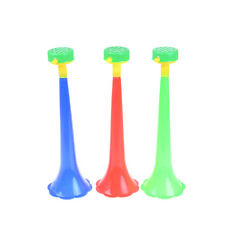 Kid Trumpet Football Stadium Cheer Fan Horns Soccer Ball Vuvuzela Cheerleading X