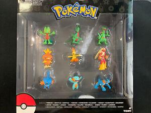 Tomy Pokemon 9 Figure Evolution Multi Pack Gen 3 NEW Sealed Hoenn Starters