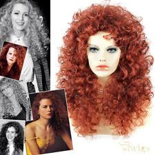 Wiwigs Untamed Long Copper Red Curly Wild Ladies Wig