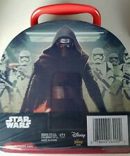 DISNEY Star Wars 3D Bubble Tin. 3D Images Appear In Every Bubble, 4 Piece Set