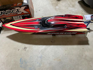 Traxxas Spartan Slider/Glider, Boat Hull Just Need Electronics