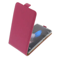 Funda para Huawei P9 Lite protectora Teléfono Móvil con Tapa Carcasa Rosa