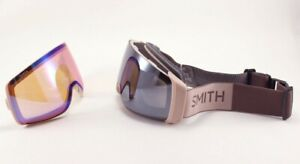 Smith 4D Mag Snow Goggles Rock Salt / Tannin, Sun Platinum Mirror Lens +Bonus