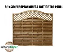 6ft x 3ft Omega Lattice Top European Panels