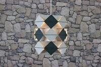 PREBEN DAL HANS FØLSGAARD SYMFONI LAMPE DECKENLAMPE HÄNGELAMPE DANISH 60er