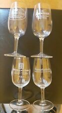 Set of 4 Bunnahabhain Macallan Highland Park Glengoyne Whisky Glasses