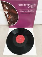 "Julian Lloyd-Webber / Yitkin Seow ‎– The Romantic Cello Vinyl 12"" LP K 23524"