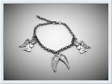 Delicate Guardian Angels & Wings Bracelet,Wrist,Gift Idea,Fashion/Costume,Pretty