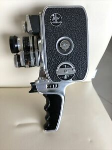 2 Cine Cameras One Bolex Paillard D8L C/W Lenses Kern 36mm + 12.5mm Plus One San