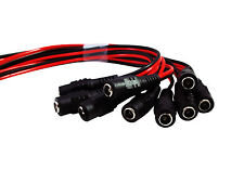 100 Pcs 12V Dc Power Pigtail Female Copper Cable Plug for Cctv Security Camera