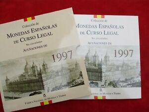 Spanien KMS Kursmünzensatz von 1997 Monedas Espanol de Curso Legal