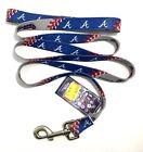 Внешний вид - Atlanta Braves Pet Dog Leash 6 Foot Long Logo Licensed
