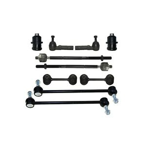 10 Pc Suspension Kit for Dodge Chrysler Plymouth Tie Rods Ball Joints Sway Bar