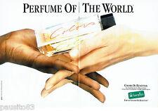 PUBLICITE ADVERTISING 046  1988   United Colors of  Benetton eau de parfum ( 2p)