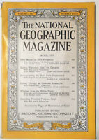 National Geographic Magazine April 1955 Ohio, Spain, Undersea, Avalanche