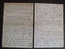Eugène Brieux - Lettre au Petit Soldat - manuscrit autographe signé - 1914