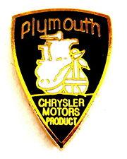 Voiture pin/broches-Chrysler plymouth logo émaillé [1325]