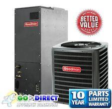 Goodman 3 Ton 14 SEER Heat Pump Split System GSZ140361+ARUF37D14 New Model!