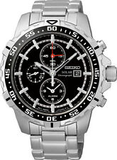 Seiko SSC299 SSC299P1 Mens Solar Alarm Watch Chronograph NEW RRP $650.00
